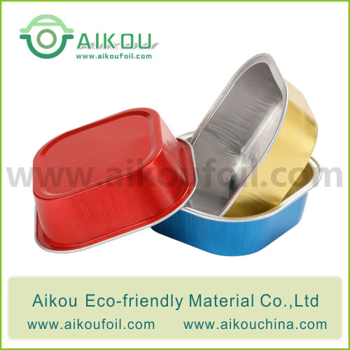 Disposable baking cup Alu57 100ML