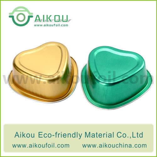 Disposable baking cup Alu39 55ML