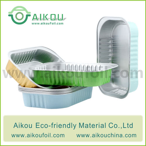 Disposable take away food container Alu19 320ML