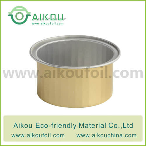 Disposable tea tin Alu 55-1  50ML