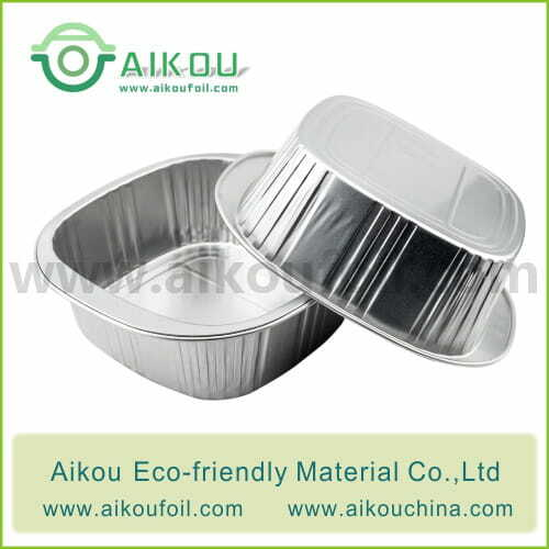 Disposable Lunch Bowl Alu69 650ml