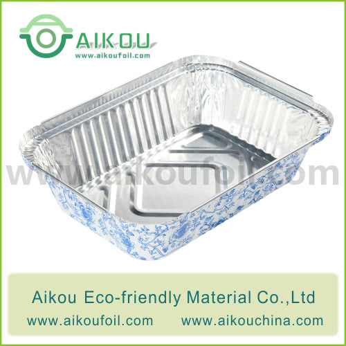 Disposable Lunch Box Alu7650 510ML