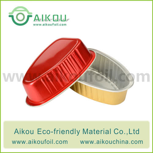 Disposable baking cup Alu02 125ML