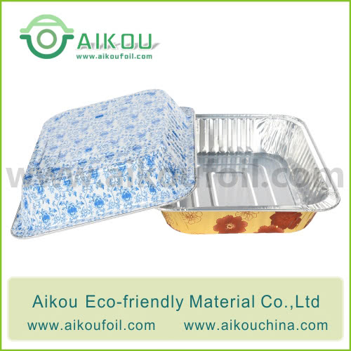 Disposable Lunch Box Alu53900 3000ML