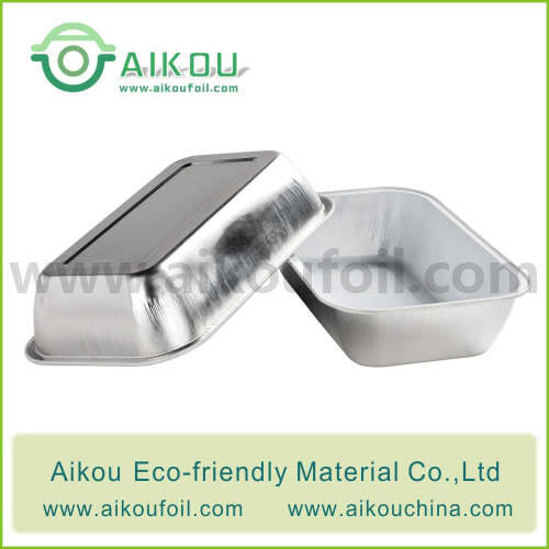 Disposable airliner food container Alu09-1 350ML