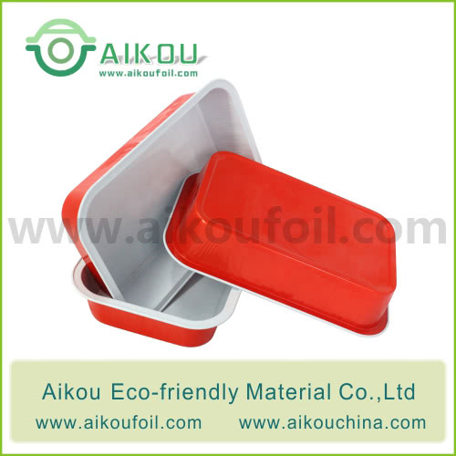 Disposable airliner food container Alu09-2 350ML