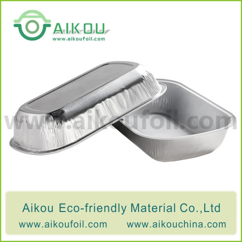 Disposable airliner food container Alu09-3 350ML