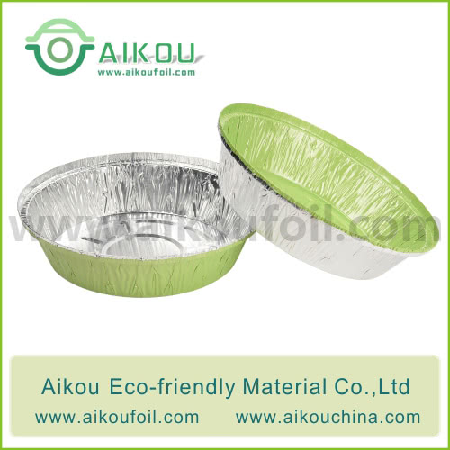 Disposable Round Pan Alu125 380ML