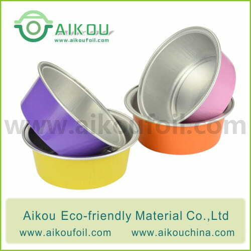Disposable baking cup Alu33 25ML