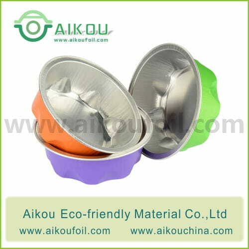 Disposable baking cup Alu34 100ML