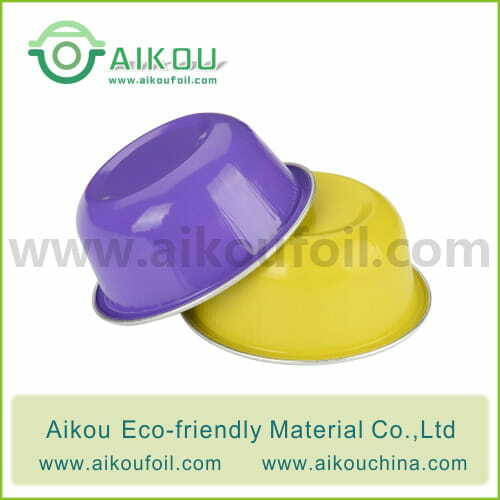 Disposable baking cup Alu40 50ML