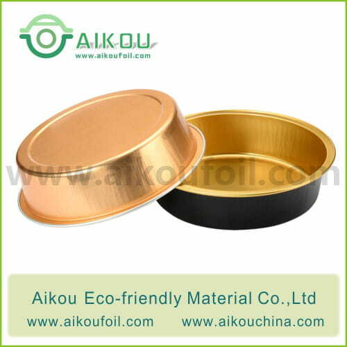 Disposable baking cup Alu42 215ML