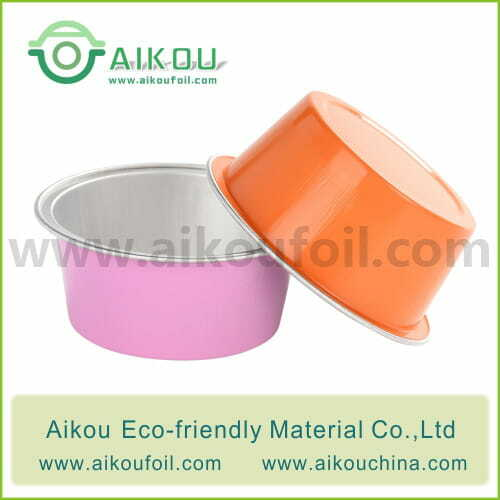 Disposable baking cup Alu45 50ML