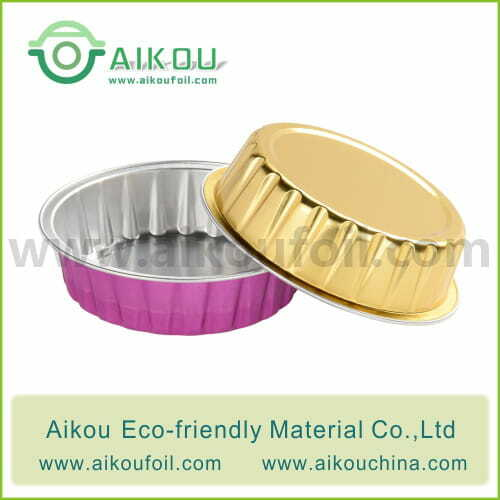 Disposable baking cup Alu46 80ML