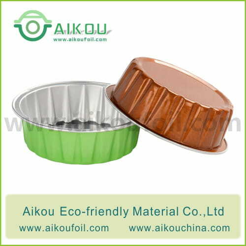 Disposable baking cup Alu47 60ML