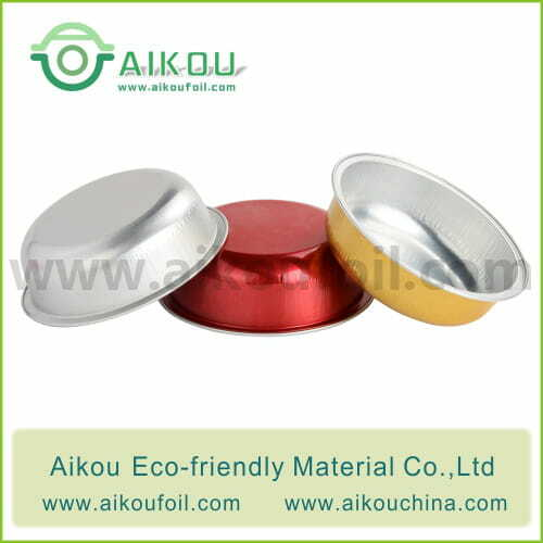 Disposable baking cup Alu56 96ML