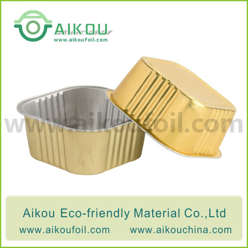 Disposable pet food container Alu20 320ML
