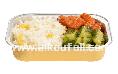 Restaurant takeout food packaging Alu19