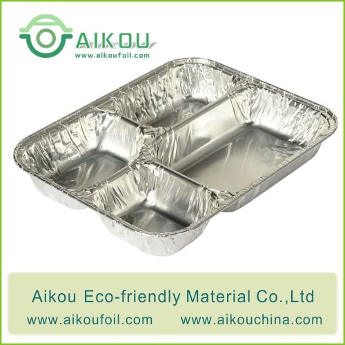 Disposable 4 compartments Alu6990 1000ML