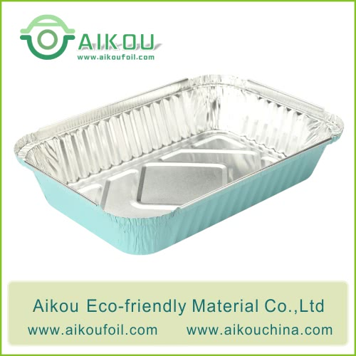 Disposable Lunch Box Alu6417 650ML