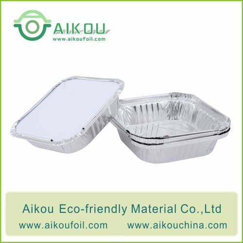Disposable food packaging box 510ML