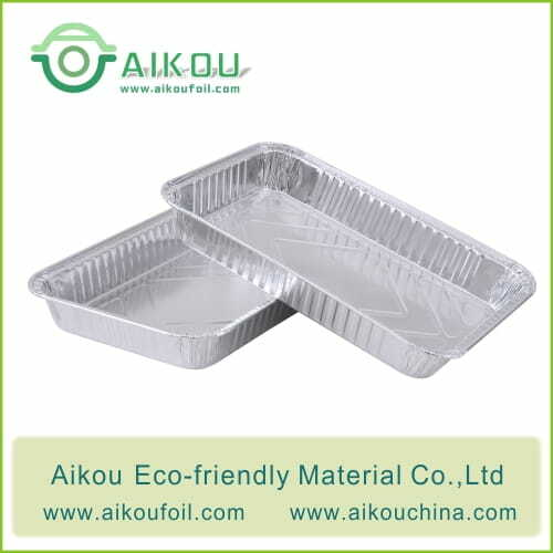 Disposable takeaway food container 52180 2100ML