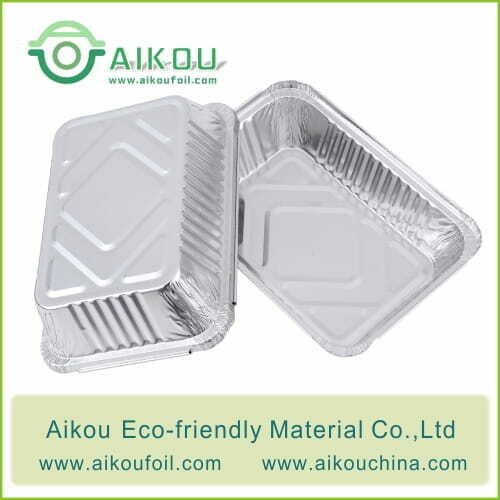 Tin Foil Baking Pans 6421 1000ML